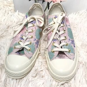 NWT Converse Chuck Taylor '70 Ox Lilac Palm shoes